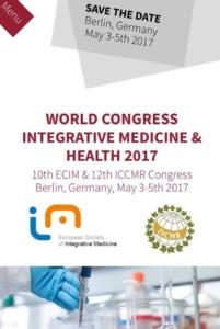Trabalho Apresentado no World Congress of Integrative Medicine & Health - Berlim / 2017 3
